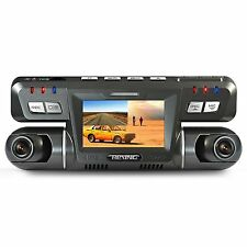 REXING G600 Dash Cam Dual Front and Rear with 265 Degree Angle 1080P HD Night