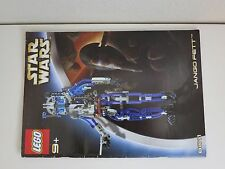 Lego 8011 Star Wars Jango Fett 8011 Instruction Pamphlet Manual Booklet