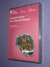 Teaching Co Great Courses DVD     SCIENTIFIC SECRETS for a POWERFUL MEMORY  new