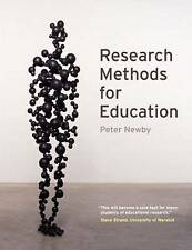 Good, Research Methods for Education, Newby, Peter, Book