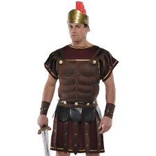 Roman Soldier Warrior Brown Faux Leather Archer
