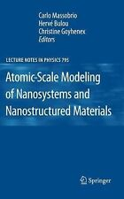 Atomic-Scale Modeling of Nanosystems and Nanostructured Materials 795 (2012,...
