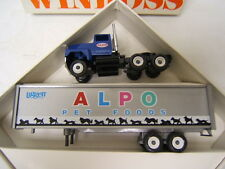 Winross Liggett ALPO Pet Food Ford 9000 Tractor w/ Van Trailer VGC 1988 NAH
