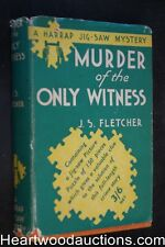 Murder of the Only Witness by J.S. Fletcher