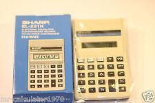 Retro Vintage Calculator SHARP ELSI MATE EL-231H 1980's
