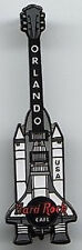 Hard Rock Cafe ORLANDO 2000 Space Shuttle GUITAR PIN with External Fuel Tanks