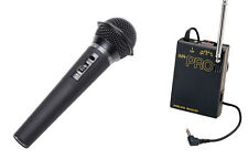 Pro WHM wireless handheld microphone for Canon EOS DSLR AVCHD HD HDV camcorder