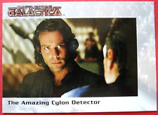 Battlestar galactica-premiere edition-carte #57 - the amazing cylon détecteur