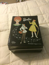 VINTAGE MATTEL BLACK BARBIE DOLL FOLDABLE CASE STORAGE CONTAINER BOX CASE
