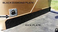 yamaha G1 Golf Cart BLACK Diamond Plate Kick Panel       FREE SHIPPING
