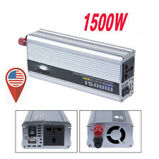 NEW 1500W 12v DC TO 110v AC car truck automotive POWER INVERTER Converter A