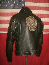 Superb  HARLEY-DAVIDSON  Motorcycle Brando Cruiser Heavy Leather Jacket. Size XL