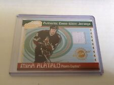 01-02 2001-02 ATOMIC MIKA ALATALO GAME-WORN JERSEY 42 PACIFIC COYOTES