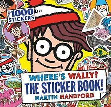 **NEW** - Where's Wally? The Sticker Book! (Paperback) 1406362115