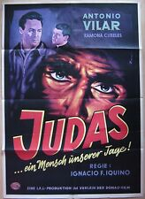 german movie poster  El Judas / Der Judas von Esparraguera   Antonio Vilar