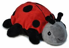 """Cloud B Twilight Ladybug Soothing Puppet 9"""" Hand Puppet Hot/Cold Pack"""