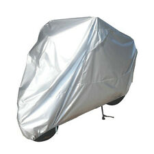 XXL Silver Motorcycle Cover For Buell Ducati KTM BMW Sports Street Bike Cruiser