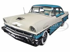 1956 MERCURY MONTCLAIR HARD TOP LAUDERDALE BLUE 1/18 PLATINUM BY SUNSTAR 5143