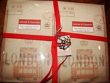 LAVENDER & CHAMOMILE HIGH FRAGRANCE SACHETS-SET OF 6 PACKETS- NEW IN PACKAGE $29
