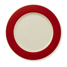 WILLIAMS SONOMA CHRISTMAS VALENTINES HOLIDAY RED CHARGER DINNER PLATE PORCELAIN
