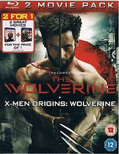 The Wolverine +X-Men Origins:Wolverine 2 Movie Pack Blu-ray Brand new and sealed