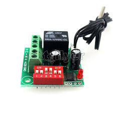 12V Adjustable Thermostat Temperature Switch Cooling Controller Sensor Module