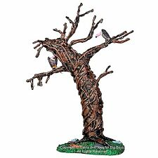 Lemax 44758 TWISTED VULTURE TREE Spooky Town Landscape Accessory Halloween R