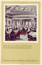 MEN'S GRILL, SIXTH FLOOR, THE STORE FOR MEN, MARSHALL FIELD & CO, CHICAGO