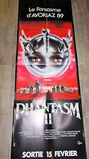 PHANTASM II   ! don coscarelli affiche cinema epouvante