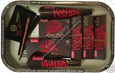 RAW Wiz Khalifa Metal Rolling Tray And King Size Hemp Rolling Papers, Tips Set