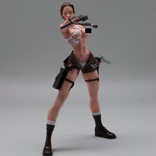 [SOL Model] c690, 1/8 Raider, Girl with Guns, resin figure