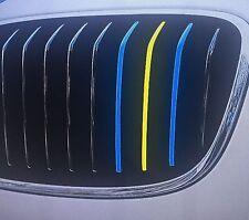 Performance Streifen Sticker Aufkleber BMW Niere Schweden Flagge Fussball EM Fan
