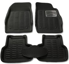 3D Foot Mats Car mats Black Color for Maruti Suzuki New Baleno(5 Pcs)