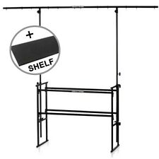 Gorilla 1.2m Complete Disco DJ Stand Booth Lighting Equipment Table Rig inc