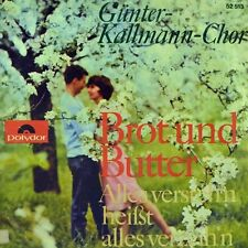 "7"" GÜNTER KALLMANN CHOR Brot und Butter NEWBEATS Bread And Butter POLYDOR 1964"