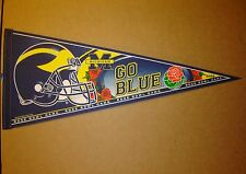 2005 Michigan Wolverines NCAA Rose Bowl Football Pennant