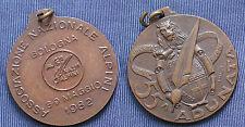 MEDAGLIA A.N.A. 55.a ADUNATA NAZIONALE DEGLI ALPINI A BOLOGNA ANNO 1982 - BRONZO