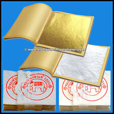 100 Gold Leaf & 100 Silver Leaves - 99.9% pure - 24 Carat - FOOD GRADE - EDIBLE