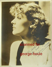 ADRIENNE AMES - PHOTOGRAPH - AUTOGRAPH  - BELA LUGOSI - BRUCE CABOT - DIED AT 39