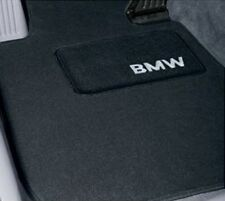 BMW Black Carpeted Floor Mats w/Heel Pad 2007-2013 328i 335i Coupes 82112293530