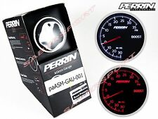 """IN STOCK"" Perrin Performance Electric 60mm Boost Pressure Gauge 0-35 psi"