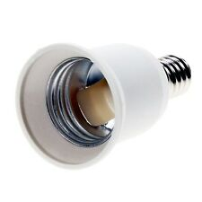 Lamp Light Bulb Socket Base Converter Edison small screw adapter E14 to E27 UK