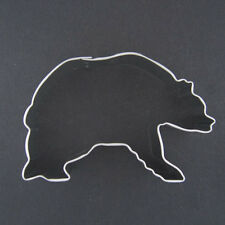"GRIZZLY BEAR 3.5"" METAL COOKIE CUTTER BABY CUB  BIRTHDAY PARTY STENCIL FAVOR NEW"