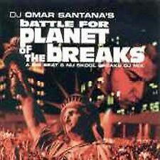 Battle for Planet of the Breaks by Omar Santana CD MUSIC FATAL TO DINOSAURS!!