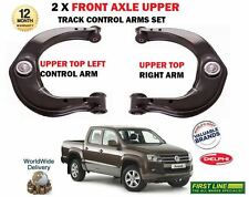 FOR VW AMAROK 2010-  LEFT + RIGHT FRONT AXLE UPPER TOP WISHBONE CONTROL ARM SET