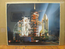 vintage Space shuttle Columbia photo paper poster 7736
