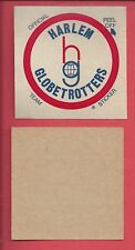 1971 Fleer Harlem Globetrotters basketball sticker decal