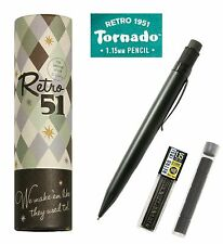 Retro 51  #VRP-1701N / Stealth Black 1.15mm Mechanical Pencil