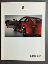 2005 Porsche Exclusive Personalization Showroom Sales Brochure RARE Awesome L@@K