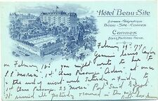 Cannes, Hotel Beau Site, 1909
